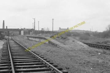 Bugle Railway Station Photo. Luxulyan - Roche. St. Blazey to Newquay Line. (11)