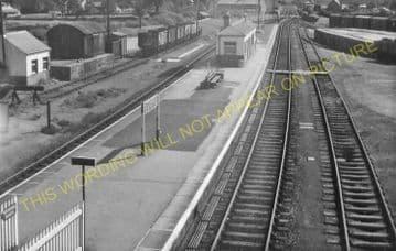 Bugle Railway Station Photo. Luxulyan - Roche. St. Blazey to Newquay Line. (14)
