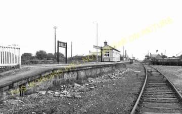 Bugle Railway Station Photo. Luxulyan - Roche. St. Blazey to Newquay Line. (15)