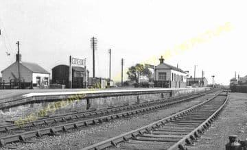 Bugle Railway Station Photo. Luxulyan - Roche. St. Blazey to Newquay Line. (16)