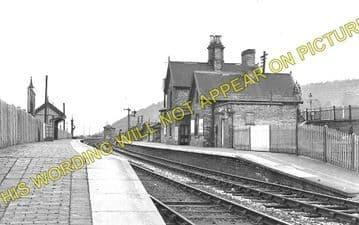 Buildwas Railway Station Photo. Coalport, Coalbrookdale & Much Wenlock Lines (1)