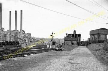 Buildwas Railway Station Photo. Coalport, Coalbrookdale & Much Wenlock Lines (12).