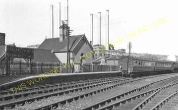 Buildwas Railway Station Photo. Coalport, Coalbrookdale & Much Wenlock Lines (9)
