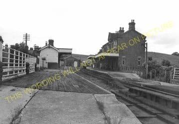Builth Road High Level Railway Station Photo. Cilmery - Llandrindod Wells. (11)