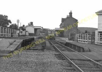 Builth Road High Level Railway Station Photo. Cilmery - Llandrindod Wells. (12)