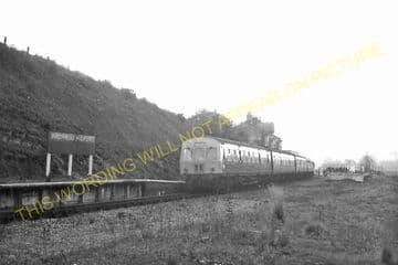 Builth Road High Level Railway Station Photo. Cilmery - Llandrindod Wells. (13)