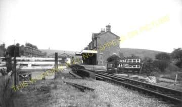 Builth Road High Level Railway Station Photo. Cilmery - Llandrindod Wells. (14)