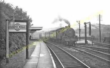 Builth Road High Level Railway Station Photo. Cilmery - Llandrindod Wells. (15)