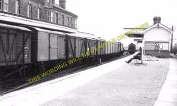 Builth Road High Level Railway Station Photo. Cilmery - Llandrindod Wells. (7)