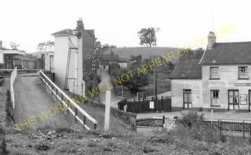 Builth Road High Level Railway Station Photo. Cilmery - Llandrindod Wells. (9)
