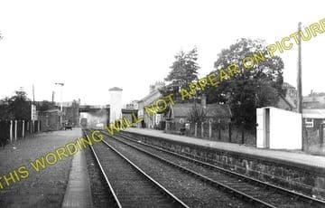 Builth Road Low Level Railway Station Photo. Newbridge - Builth Wells. (1)..