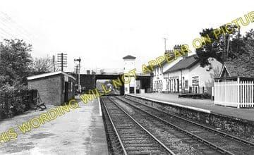 Builth Road Low Level Railway Station Photo. Newbridge - Builth Wells. (2)