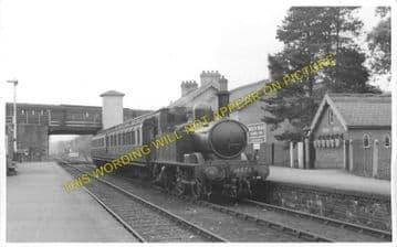 Builth Road Low Level Railway Station Photo. Newbridge - Builth Wells. (4)