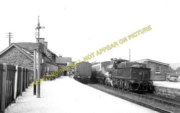 Builth Wells Railway Station Photo. Newbridge - Aberedw and Erwood Line. (1)..