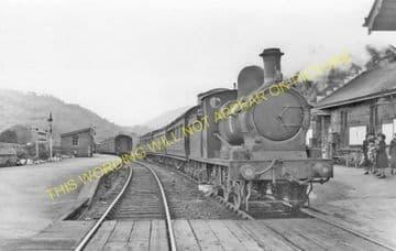 Builth Wells Railway Station Photo. Newbridge - Aberedw and Erwood Line. (11)