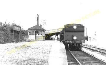 Bulford Railway Station Photo. Amesbury, Newton Tony and Grateley Line. (6)
