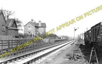 Bulwell Forset Railway Station Photo. Daybrook - Bestwood Colliery. GNR. (1)