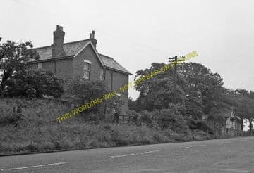 Bulwell Forset Railway Station Photo. Daybrook - Bestwood Colliery. GNR. (4)