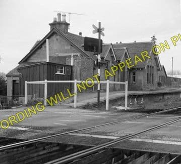 Bunchrew Railway Station Photo. Inverness - Lentran. Clunes and Beauly Line. (1)..