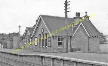 Bunchrew Railway Station Photo. Inverness - Lentran. Clunes and Beauly Line. (6)