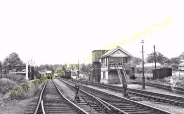 Buntingford Railway Station Photo. Westmill, Braughing and Standon Line. (10)