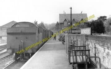 Buntingford Railway Station Photo. Westmill, Braughing and Standon Line. (2)