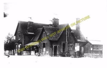 Buntingford Railway Station Photo. Westmill, Braughing and Standon Line. (4)