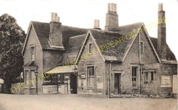 Buntingford Railway Station Photo. Westmill, Braughing and Standon Line. (6)