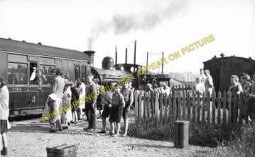 Burghead Railway Station Photo. Hopeman - Coltfield. Alves Line. Highland. (2)
