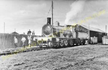 Burghead Railway Station Photo. Hopeman - Coltfield. Alves Line. Highland. (3)