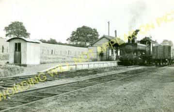 Burwarton Railway Station Photo. Ditton Priors - Stottesdon. (2).