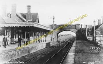 Burwell Railway Station Photo. Fordham - Swaffham Prior. Barnwell Line (1)
