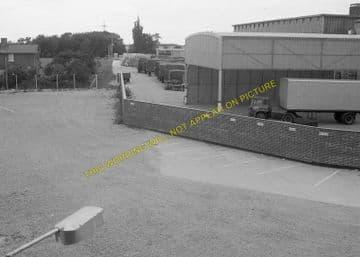 Burwell Railway Station Photo. Fordham - Swaffham Prior. Barnwell Line (6)