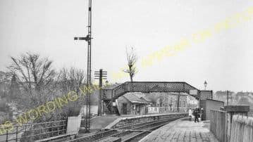 Busby Railway Station Photo. Clarkston - Thontonhall. Caledonian Railway. (3)