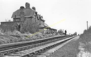 Byers Green Railway Station Photo. Coundon- Spennymoor. Bishop Auckland Line (2)..