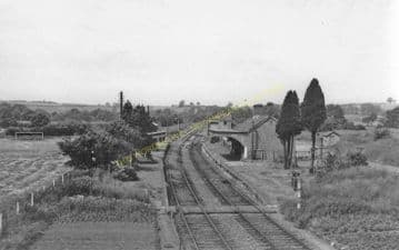 Byfield Railway Station Photo. Fenny Compton- Morton Pinkney. Towcester Line (7).