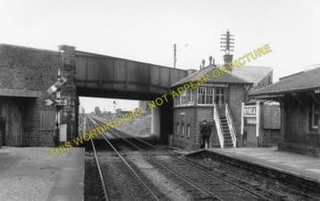 Bynea Railway Station Photo. Llanelly - Llangennech. Pontardulais Line. GWR. (1)