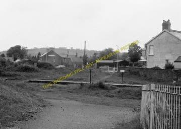 Bynea Railway Station Photo. Llanelly - Llangennech. Pontardulais Line. GWR. (5)