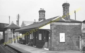 Bynea Railway Station Photo. Llanelly - Llangennech. Pontardulais Line. GWR. (8)