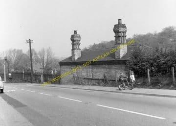 Caergwrle Castle Railway Station Photo. Cefn-y-Bedd - Hope Village. GCR. (7)