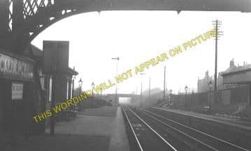 Caldercruix Railway Station Photo. Plains - Forestfield. Westcraigs Line. (1).