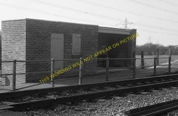 Caldicot Railway Station Photo. Portskewett - Severn Tunnel Junction. GWR. (5)