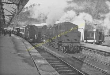 Callander Railway Station Photo. Doune - Strathyre. Dunblane to Balquhidder (13)