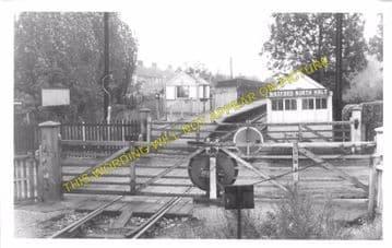 Callowland Railway Station Photo. Watford - Brickett Wood and St. Albans. (1)..