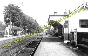 Cambus Railway Station Photo. Alloa to Stirling and Alva. North British Rly. (1)..
