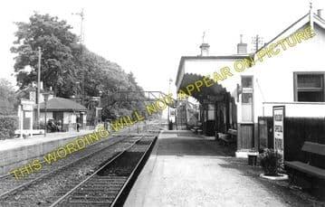 Cambus Railway Station Photo. Alloa to Stirling and Alva. North British Rly. (1)..