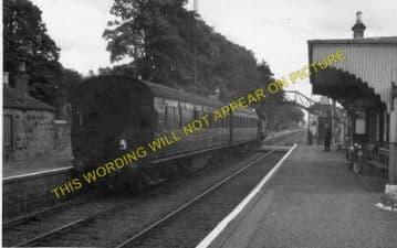 Cambus Railway Station Photo. Alloa to Stirling and Alva. North British Rly. (2)