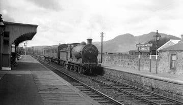 Cambus Railway Station Photo. Alloa to Stirling and Alva. North British Rly. (4)