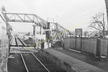 Cambus Railway Station Photo. Alloa to Stirling and Alva. North British Rly. (5)