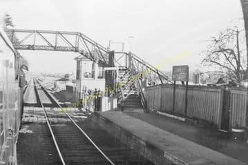 Cambus Railway Station Photo. Alloa to Stirling and Alva. North British Rly. (5)